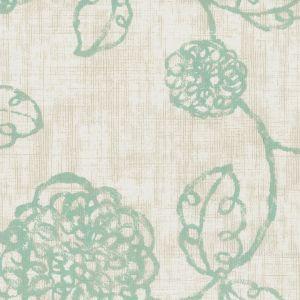 TARYN 3 Aqua Stout Fabric