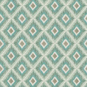 WIRELESS 4 Turquoise Stout Fabric