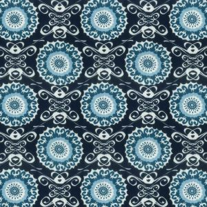 Midsummer 3 Navy Stout Fabric