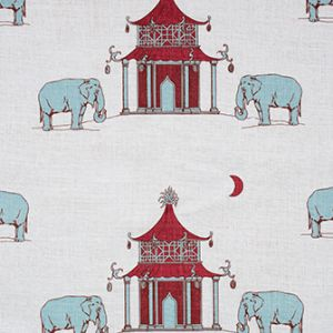 PAGODA Ruby Katie Ridder Fabric