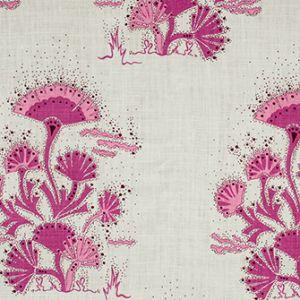 SEAWEED Magenta Katie Ridder Fabric