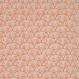 WAVE Orange Katie Ridder Fabric