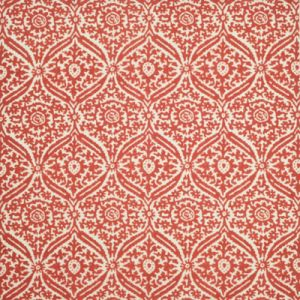 LCF68687F COSTIERO DAMASK Sunbaked Red Ralph Lauren Fabric