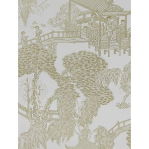 GDW5252-006 ZHOU JUN Blanco Beige Gaston Y Daniela Wallpaper