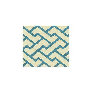 6340-07WSUN AGA Turquoise Quadrille Fabric