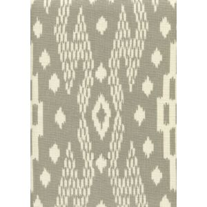 7610-05 ANDROS BATIK Grey on Tinted Linen Custom Only Quadrille Fabric