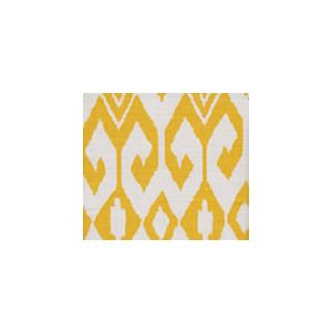 7230-02 AQUA II Yellow on White Quadrille Fabric
