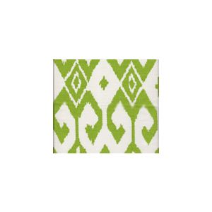 7230-03 AQUA II Jungle Green on White Quadrille Fabric