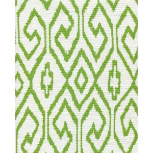 7240-03 AQUA IV Jungle Green on White Quadrille Fabric