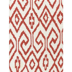 7240-05 AQUA IV Rust on White Quadrille Fabric