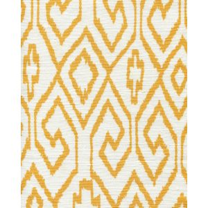 7240-02 AQUA IV Yellow on White Quadrille Fabric