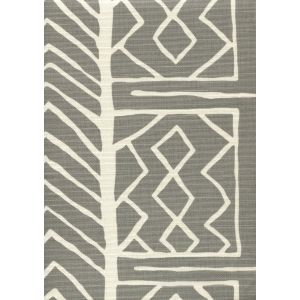 AC812-03 ARUBA II BACKGROUND Grey on Tint Quadrille Fabric