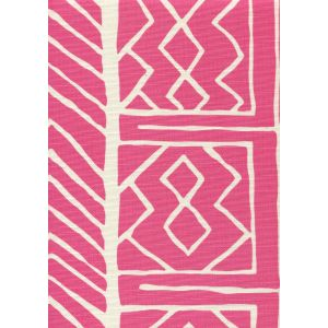 AC812-06 ARUBA II BACKGROUND Pink on Tint Quadrille Fabric