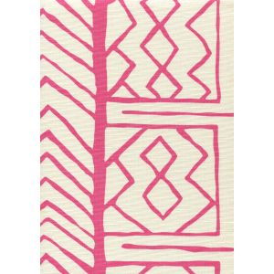AC811-06 ARUBA II Pink on Tint Quadrille Fabric