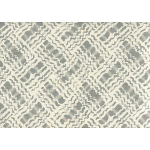 AC860-07 BAHA II Dark Grey on Tint Quadrille Fabric
