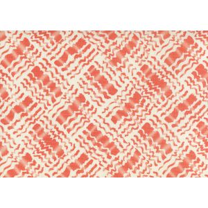 AC860-06 BAHA II Orange on Tint Quadrille Fabric