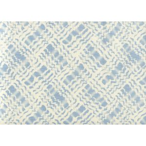 AC860-01 BAHA II Sky Blue on Tint Quadrille Fabric