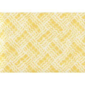 AC860-04 BAHA II Yellow on Tint Quadrille Fabric