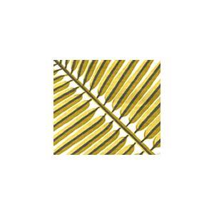 2070-04 BAHAMA PALM Fern Green on Tint Quadrille Fabric