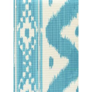 2020-04 BALI HAI Turquoise on Tint Quadrille Fabric