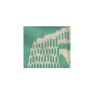 2430SU-31VSUN BALI II Turquoise on Vellum Quadrille Fabric