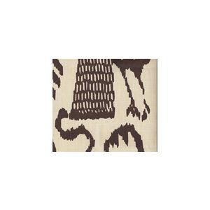 2435-37SUN BALI ISLE Brown on Vellum Quadrille Fabric