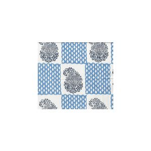 5090-03WSUN BANGALORE Navy French Blue Quadrille Fabric