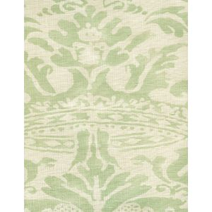 302840B-04 BROMONTE Soft French Green on Tint Quadrille Fabric