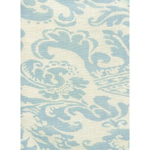 302840B-03 BROMONTE Soft Windsor Blue on Tint Quadrille Fabric