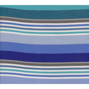 7280-05 CABANA STRIPE Multi Blues Turquoise Quadrille Fabric