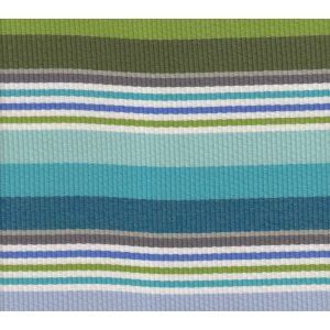 7280-03 CABANA STRIPE Multi Turquoise Greens Quadrille Fabric