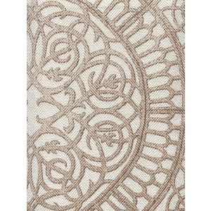 CP1030-07 CAMELOT Cognac on Westover Quadrille Fabric