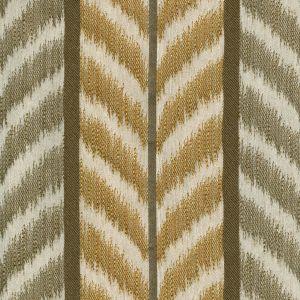 030020T CAROUSEL Taupe Camel Quadrille Fabric
