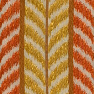 030023T CAROUSEL Inca Gold Terracotta Quadrille Fabric