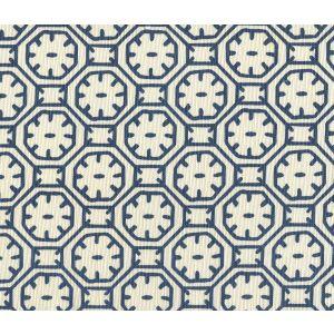8150-10 CEYLON BATIK Navy on Tint Quadrille Fabric