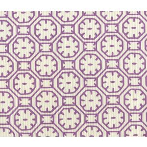 8150-08 CEYLON BATIK Purple on Tint Quadrille Fabric