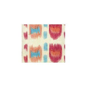 AC704-07SUN CINTRA Multi Rose Turquoise Quadrille Fabric