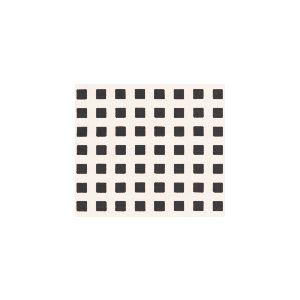 AC1220-01 CLIQUOT Black Squares on White Custom Only Quadrille Fabric
