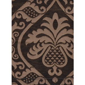 009014T CONCORDIA DAMASK Sable Brown Quadrille Fabric