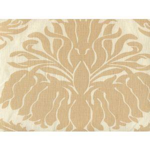 306160L-02 CORINTHE DAMASK ONE COLOR Beige on Ecru Quadrille Fabric