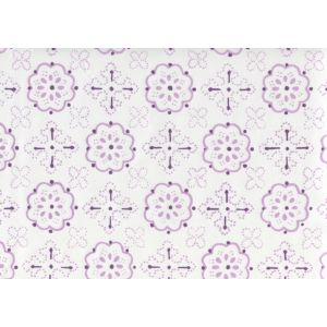 306310CTTN CRAWFORD Light Lavender Quadrille Fabric