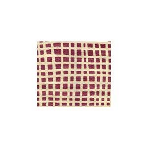 AC403-18 CRISS CROSS Lilac on Cream Quadrille Fabric