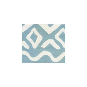 AC104-41 DEAUVILLE Bali Blue on White Quadrille Fabric