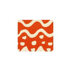 AC104-20 DEAUVILLE Orange Quadrille Fabric