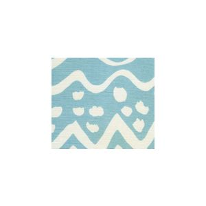 AC104-15 DEAUVILLE Pale Aqua on White Quadrille Fabric