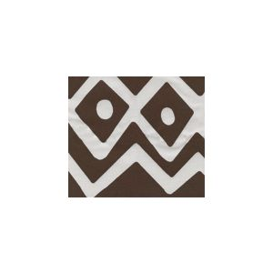 AC104SU-108 DEAUVILLE Brown Quadrille Fabric