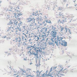 2478-107 DIVA POPLIN Bleu Quadrille Fabric
