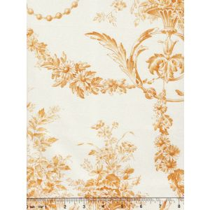 2478-109 DIVA POPLIN Jaune Quadrille Fabric