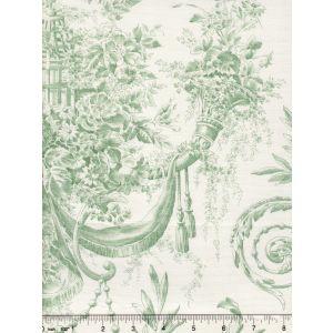 2478-111 DIVA POPLIN Vert Quadrille Fabric