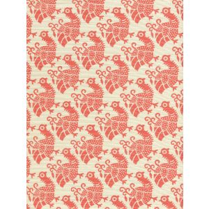 8070-04 DUNMORE New Shrimp on Tint Custom Only Quadrille Fabric